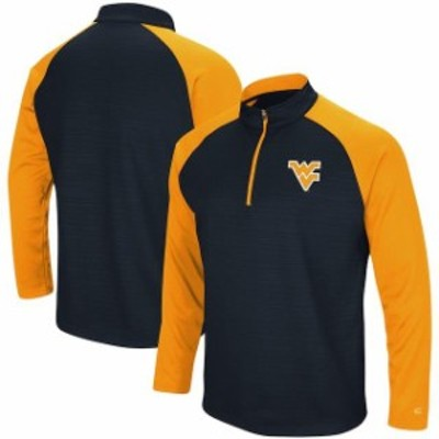 Colosseum コロセウム スポーツ用品  Colosseum West Virginia Mountaineers Navy Setter Quarter-Zip Pullover Jacket