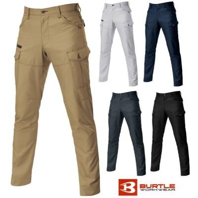 BURTLE バートル 9082 74〜90cm カーゴパンツ 春夏 作業服 作業着 ユニフォーム かっこいい おしゃれ 安い ズボン