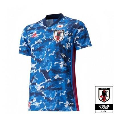 背番号10 背ネーム入り アディダス サッカー日本代表 2020 ホーム レプリカ ユニフォーム メンズ ブルー 半袖シャツ adidas