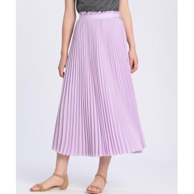 【スーペリアクローゼット/SUPERIOR CLOSET】 《大きいサイズ》ラッププリーツスカート