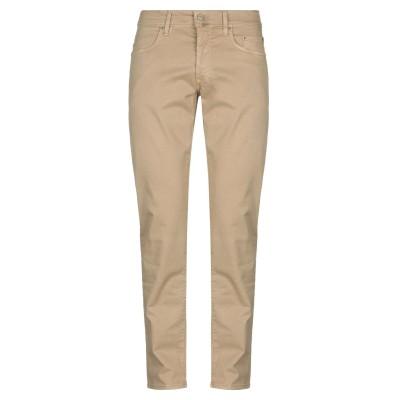 シビリア SIVIGLIA パンツ キャメル 35 コットン 98% / ポリウレタン 2% / 紡績繊維 パンツ