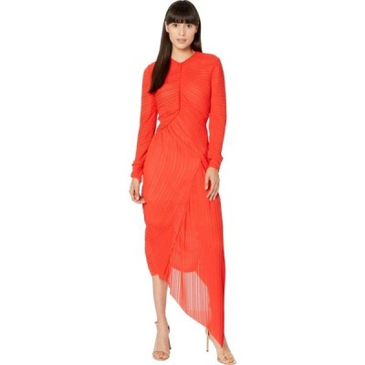 プリーン バイ ソーントン ブルガッジ Preen by Thornton Bregazzi レディース ワンピース ワンピース・ドレス Dalia Dress Bright Red