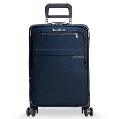 ブリッグスアンドライリー Briggs & Riley メンズ スーツケース・キャリーバッグ バッグ Baseline Domestic Softside Carry-On Spinner Navy