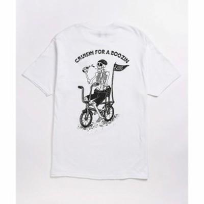 アロストコーズ A LOST CAUSE メンズ Tシャツ トップス cruisin white t-shirt White