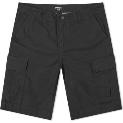 カーハート Carhartt WIP メンズ ショートパンツ カーゴ ボトムス・パンツ Regular Cargo Short Black