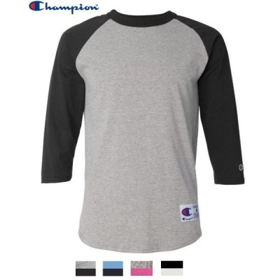 チャンピオン7分袖TシャツChampion  3/4 Raglan Baseball T-Shirt T137
