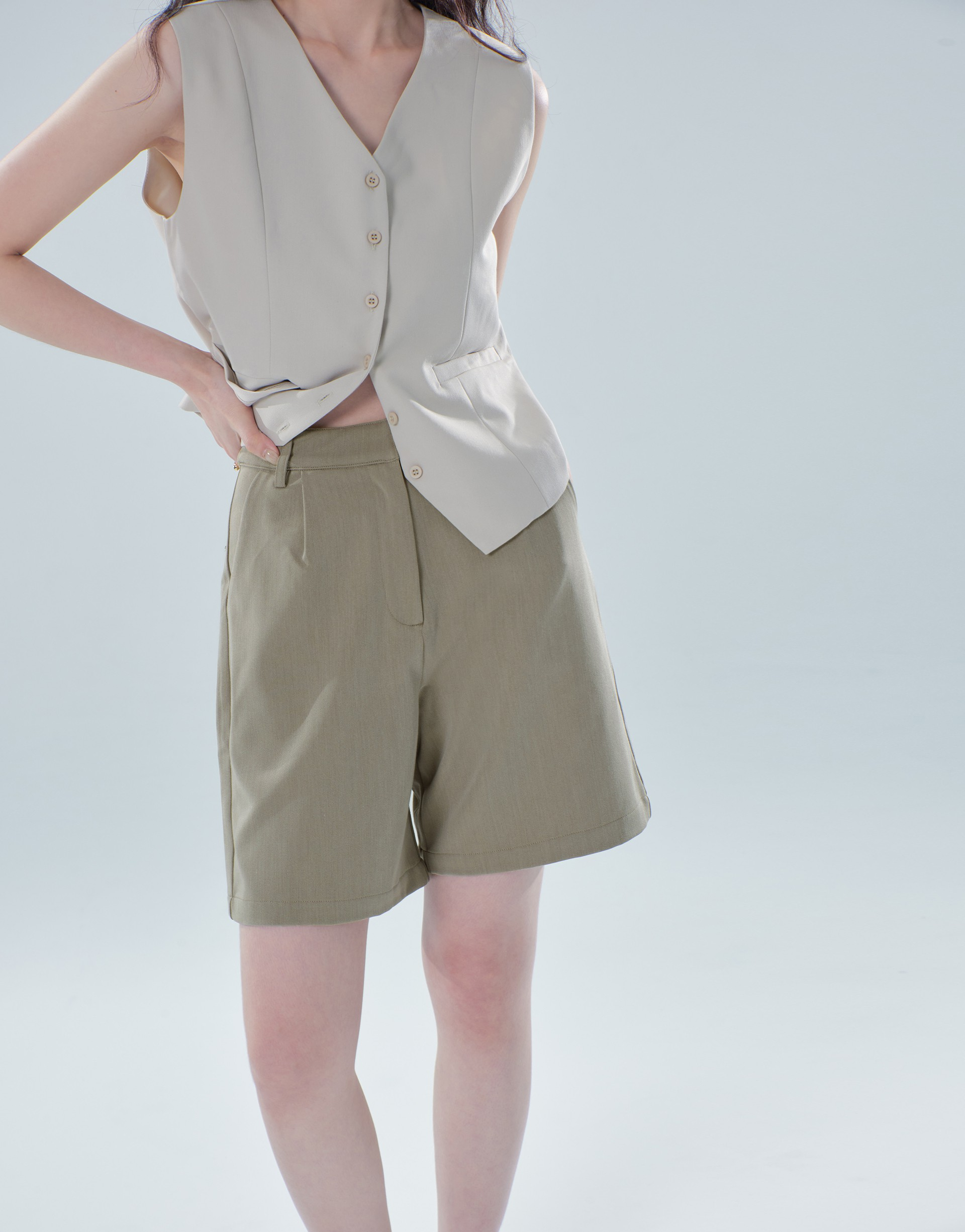 MORE REAL 西裝短褲(楊丞琳限定款)-PAZZO