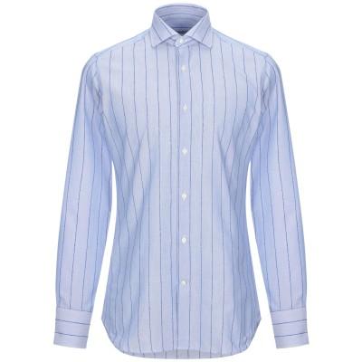 カリバン CALIBAN シャツ ブルー 38 コットン 100% シャツ