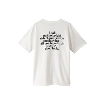RED CARD レッドカード 【FLAVOR TEE】GOOD LUCK Tシャツ レディース WHITE JASMINE A/P F