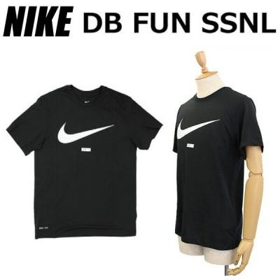 NIKE ナイキ DB FUN SSNL ファン Tシャツ カットソー メンズ スポーツ ロゴ BQ1854 ブラック ルームウェア 部屋着
