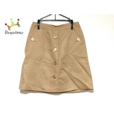 ジャスグリッティー JUSGLITTY スカート サイズ2 M レディース 美品 ベージュ     スペシャル特価 20200425