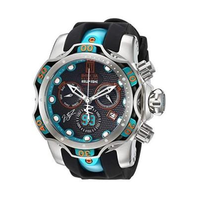 インビクタ Invicta Men's JT Stainless Steel Quartz Watch with Silicone Strap, Two Tone, 24.4 (Model: 25305) 並行輸入品