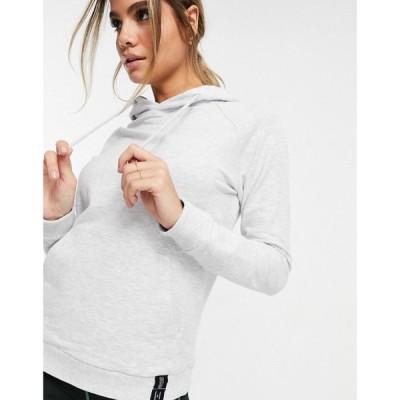 エイソス ASOS 4505 レディース パーカー トップス yoga hoodie in soft touch グレー