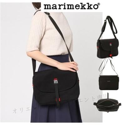 MARIMEKKO  ショルダーバッグ マリメッコ  ショルダー 040954 001 ブラック MAGNEETTILAUKKU BAG 通勤通学 レディース メンズ