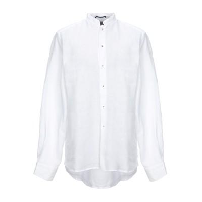 PLOUMANAC'H シャツ ホワイト 43 麻 100% シャツ