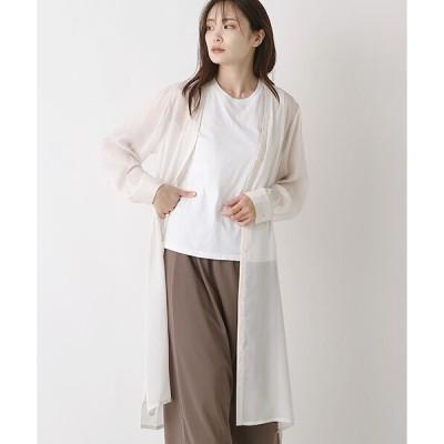 MARcourt / マーコート 【GINZA5月号掲載】long shirt C/D