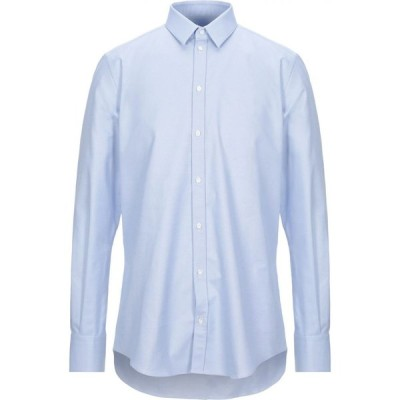 ラフムーア RAF MOORE メンズ シャツ トップス Striped Shirt Blue