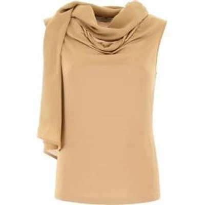 Max Mara レディースその他 Max Mara Top With Scarf Basic