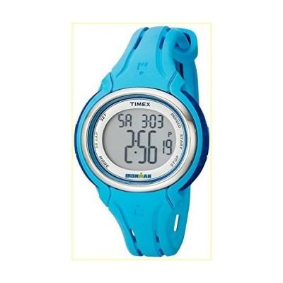 Timex Women's TW5K906009J Ironman Sleek 50 Pool Blue Silicone Strap Watch【並行輸入品】