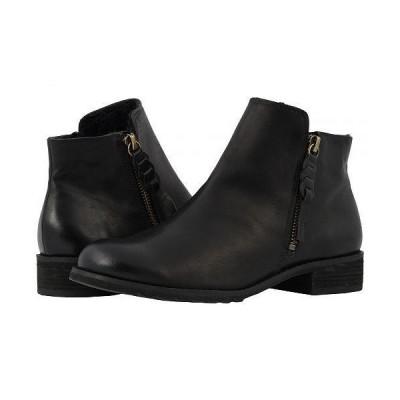 Walking Cradles ウォーキングクレイドル レディース 女性用 シューズ 靴 ブーツ アンクルブーツ ショート Kason - Black Rustic Leather
