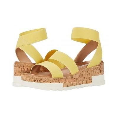 Steve Madden スティーブマデン レディース 女性用 シューズ 靴 ヒール Bandi Wedge Sandal - Yellow