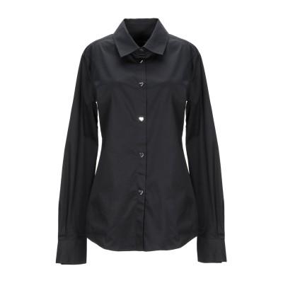 ラブ モスキーノ LOVE MOSCHINO シャツ ブラック 42 コットン 97% / ポリウレタン 3% シャツ