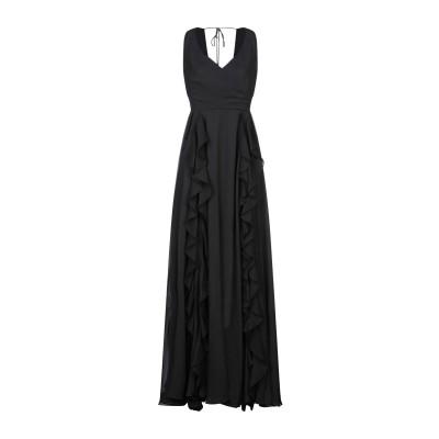 リュー ジョー LIU •JO ロングワンピース&ドレス ブラック 42 ポリエステル 100% ロングワンピース&ドレス