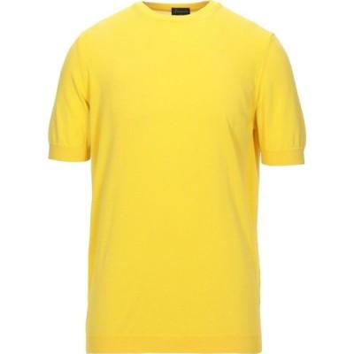 ドルモア DRUMOHR メンズ ニット・セーター トップス sweater Yellow