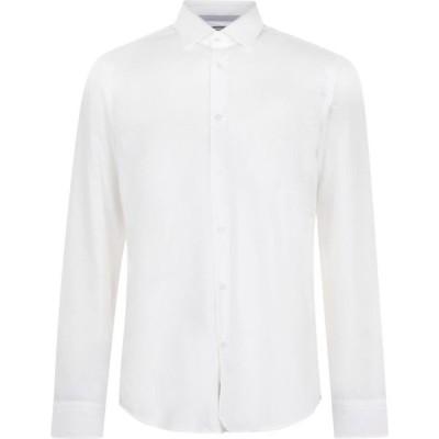 ヒューゴ ボス Boss メンズ シャツ トップス gelson poplin shirt White