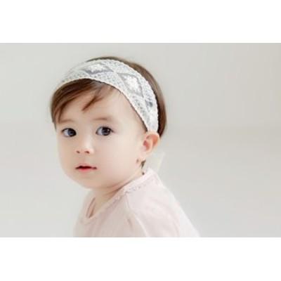 ヘアバンド 子供用 キッズ リボン シンプル ヘアアレンジ 髪飾り ターバン ヘアアクセサリー 女の子 女児 子ども用 ベビー用 ファッショ