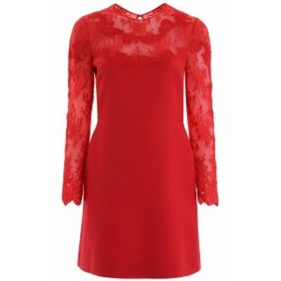 VALENTINO/バレンチノ ドレス ROSSO Valentino dress with lace detail レディース 秋冬2019 SB3VA1H01CF ik