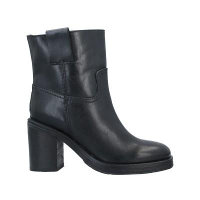 PIUMI ショートブーツ ブラック 38 牛革(カーフ) ショートブーツ