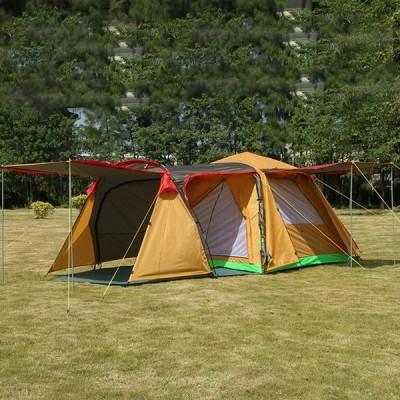 延長ホール 3-4PERSONS 自動家族抗ビッグ RANING 屋外キャンプ 1 ホール 1 リビングルーム大テント y2083