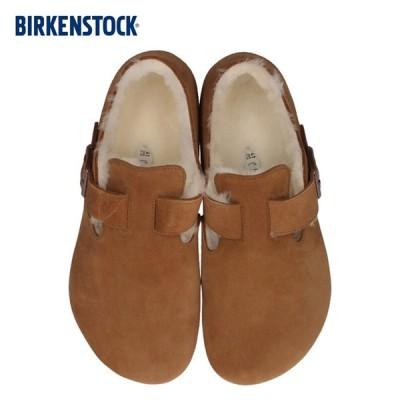 ビルケンシュトック BIRKENSTOCK ロンドンシアリング レディース メンズ London Shearling 1014962 靴 スエード ブラウン 国内正規品