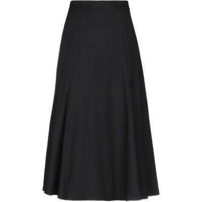 CAROLINA HERRERA 7分丈スカート ブラック 8 バージンウール 98% / ポリウレタン 2% 7分丈スカート