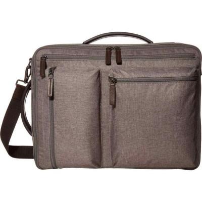 フォッシル Fossil メンズ バックパック・リュック バッグ Buckner Convertible Backpack Titanium