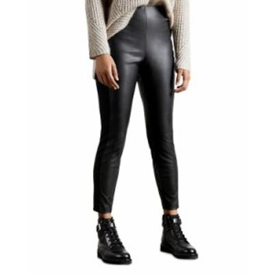 テッドベーカー レディース カジュアルパンツ ボトムス Faux Leather Leggings Black