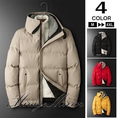 50代ファッション 中綿ジャケット アウター メンズ ジャケット ブルゾン 冬服 冬物 厚手 ジャンパー 防寒着 通勤