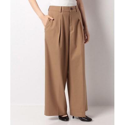 <Leilian(Women)/レリアン>【my perfect wardrobe】ロングワイドパンツ チャイロ【三越伊勢丹/公式】