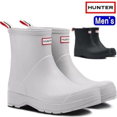 ハンター レインブーツ ショート MFS9088RMA HUNTER 国内正規品 Mens Original Play Short Rain Boots オリジナル プレイ ショートブーツ 長靴 メンズ