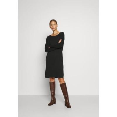 エスプリ レディース ドレス Jumper dress - black
