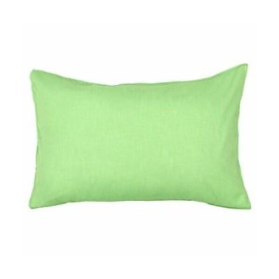 メリーナイト(Merry Night) 枕カバー 「シャンブレー」 43×63cm グリーン pc16100-53