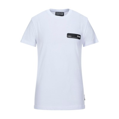 VERSACE JEANS COUTURE T シャツ ホワイト S コットン 100% T シャツ