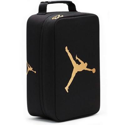 ジョーダン シューズケース Jordan The Shoe Box シューズバッグ 黒メタリックゴールド DB150