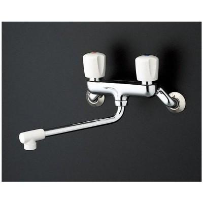 壁付2ハンドル混合水栓(整流、共用) キッチン用水栓 TKJ20BAU TOTO
