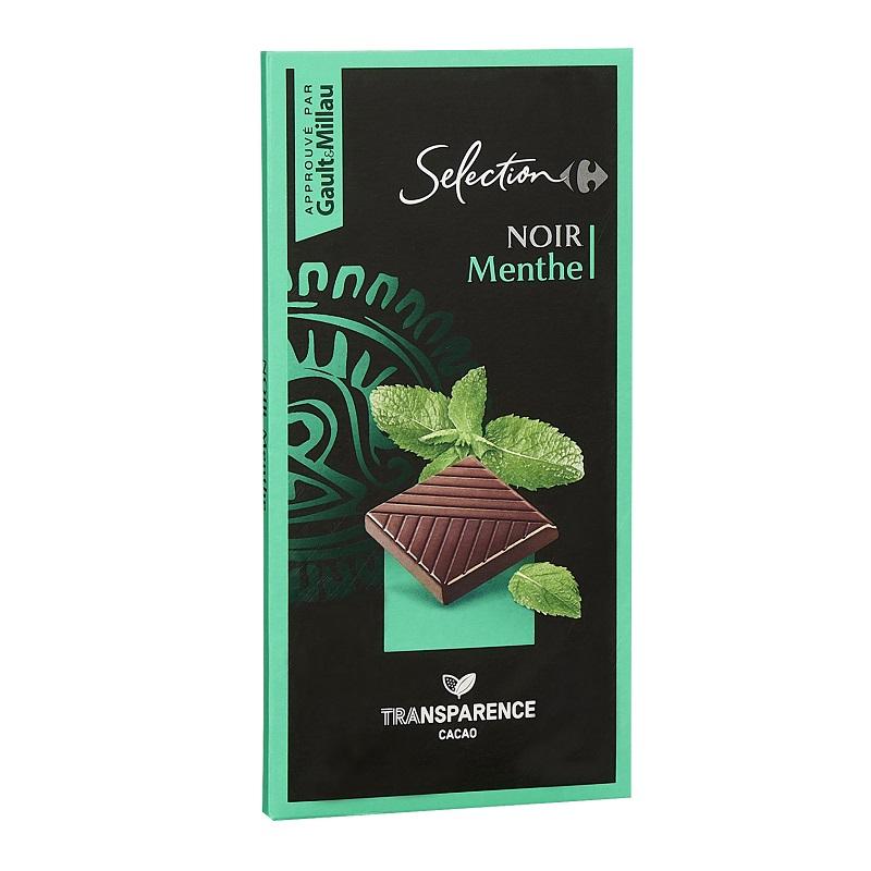 家福精選薄荷 黑巧克力