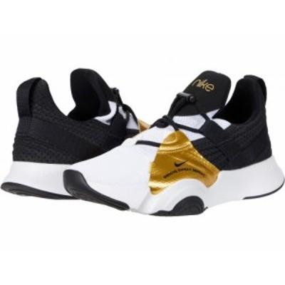 Nike ナイキ レディース 女性用 シューズ 靴 スニーカー 運動靴 SuperRep Groove White/Black/Metallic Gold Coin/Black【送料無料】