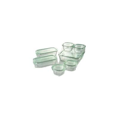 イワキ パック&レンジシステムセット(耐熱ガラス) 6164-086