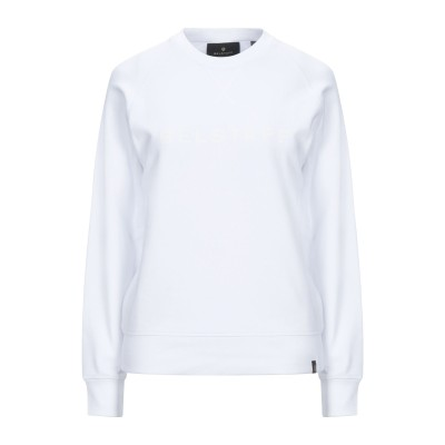 ベルスタッフ BELSTAFF スウェットシャツ ホワイト M コットン 100% スウェットシャツ