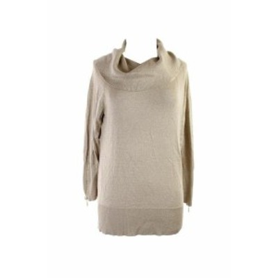 ファッション トップス Thalia Sodi Oro Zipper-Embellished Cowl-Neck Maglione